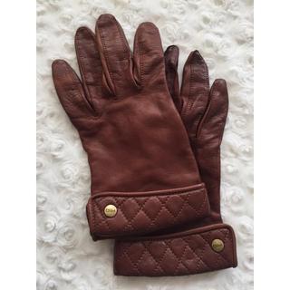 クロエ(Chloe)のCHLOE クロエ 本革手袋 グローブ(手袋)