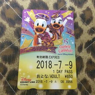 ディズニー(Disney)のリゾートライン フリーきっぷ ドナデジ土日限定セール(鉄道乗車券)