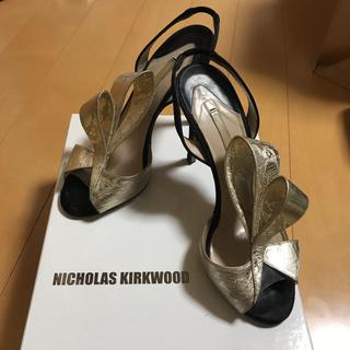 ニコラスカークウッド(Nicholas Kirkwood)の【Nicolas Kirkwood】サンダル 22.5(サンダル)