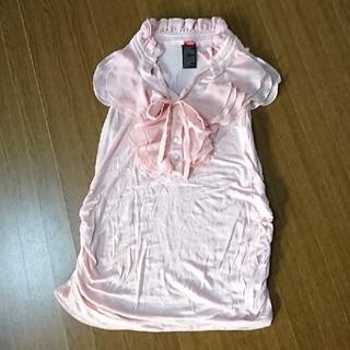 ダブルスタンダードクロージング(DOUBLE STANDARD CLOTHING)のdouble standard clothing  フリルノースリーブ(カットソー(半袖/袖なし))