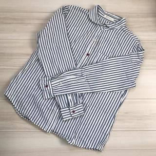 ソルベリー(Solberry)のsoulberry 丸襟 ストライプシャツ(シャツ/ブラウス(長袖/七分))