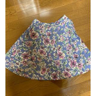 レッセパッセ(LAISSE PASSE)のレッセパッセ 花柄スカート(ひざ丈スカート)