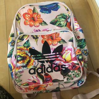 アディダス(adidas)のアディダスオリジナルス 花柄 リュック(リュック/バックパック)