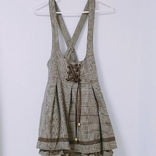 リズリサ(LIZ LISA)のリズメロ♡ジャンパースカート(ミニワンピース)