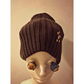 エイチアンドエム(H&M)のニット帽 (ニット帽/ビーニー)
