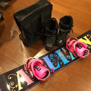 アライアン(ALLIAN)のスノーボード板 スノーボードセット アライアン ユニオン K2 ブランド板(ボード)