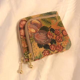 グリモワール(Grimoire)の♥ Vintage rétro fruit embroidery bag(ポーチ)