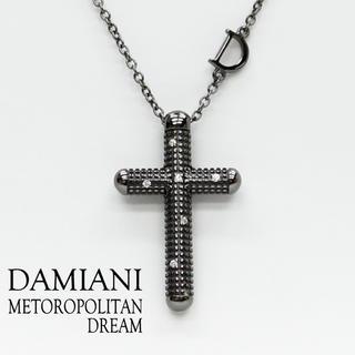 ダミアーニ(Damiani)のダミアーニ メトロポリタンドリーム クロスネックレス ブラック (ネックレス)