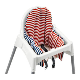 イケア(IKEA)のIKEA ベビーチェアクッション PYTTIG 新品未開封(その他)