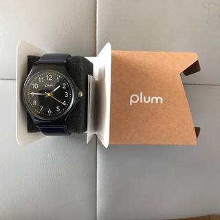 【新品・未使用】Plum 腕時計 (腕時計(アナログ))