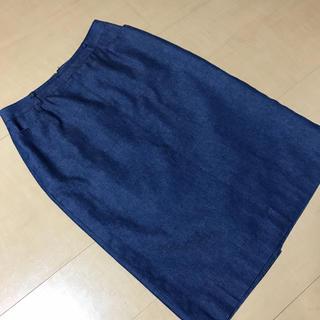 バーバリー(BURBERRY)のバーバリーロンドン デニムスカート(ひざ丈スカート)