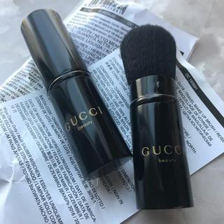 グッチ(Gucci)の【VIP顧客限定】GUCCI メイクブラシ(新品未使用)非売品  1本(ノベルティグッズ)