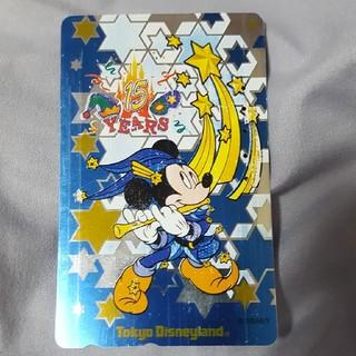 ディズニー(Disney)の[使用済み]東京ディズニーランド 15周年記念テレホンカード(その他)