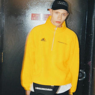 d4211dfc736 シュプリーム(Supreme)のGosha Rubchinskiy X Adidas Fleece Yellow(スウェット)
