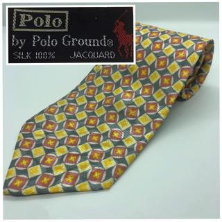 ポロラルフローレン(POLO RALPH LAUREN)の[ Polo ] Polo ground 総柄 小紋柄 シルク ネクタイ(ネクタイ)
