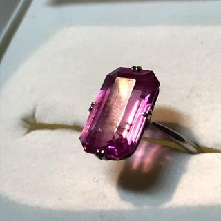 アンティークリング ピンクパープル(リング(指輪))