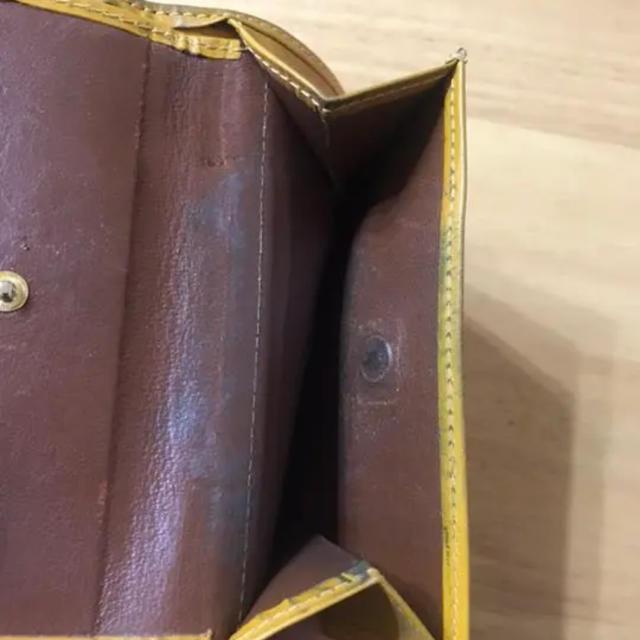 WHITEHOUSE COX(ホワイトハウスコックス)のホワイトハウスコックス 三つ折り財布  ブラック✖︎イエロー メンズのファッション小物(折り財布)の商品写真