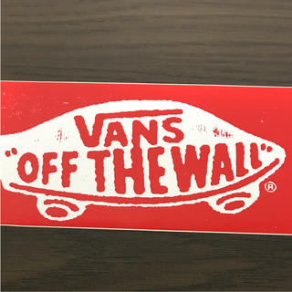 ヴァンズ(VANS)の【縦6.2cm横13cm】VANS ステッカー OLD使用(その他)