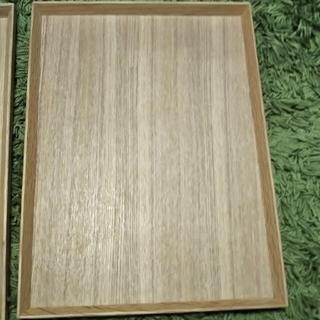ムジルシリョウヒン(MUJI (無印良品))の無印良品  木製 トレー1枚(テーブル用品)