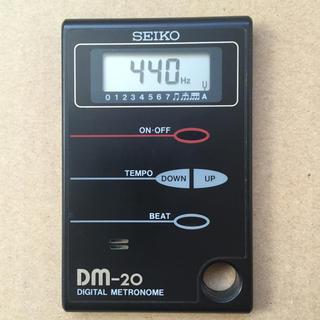 セイコー(SEIKO)のデジタルメトロノーム SEIKO DM-20(その他)