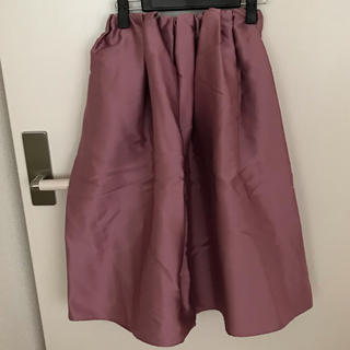 デミルクスビームス(Demi-Luxe BEAMS)のゆう様 専用 ビームス  サテンタックスカート(ひざ丈スカート)