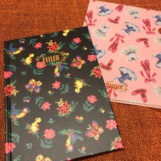 フェイラー(FEILER)のフェイラー70周年記念 ノートとファイルセット 新品 ステーショナリー(ノート/メモ帳/ふせん)