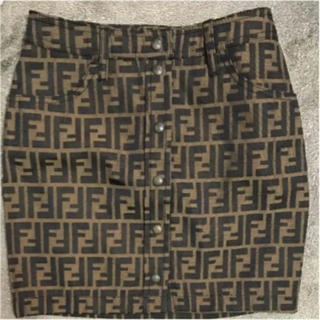 フェンディ(FENDI)のFENDI タイトスカート(ミニスカート)