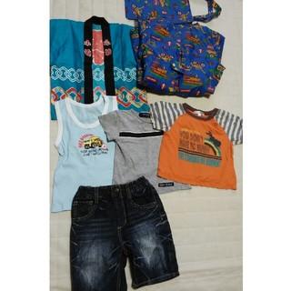 シマムラ(しまむら)の男の子服80~90セット(Tシャツ)