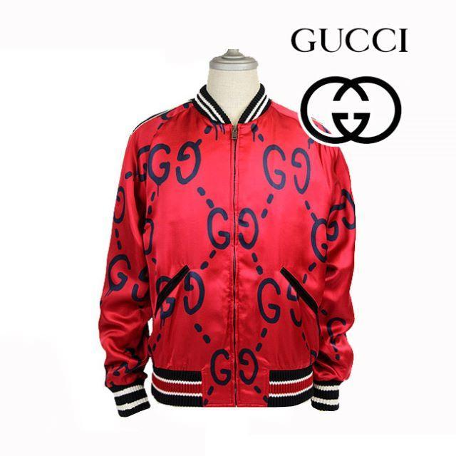 big sale 31c3b 5835c Gucci Ghost BomberJacket ゴースト48ボンバージャケット   フリマアプリ ラクマ