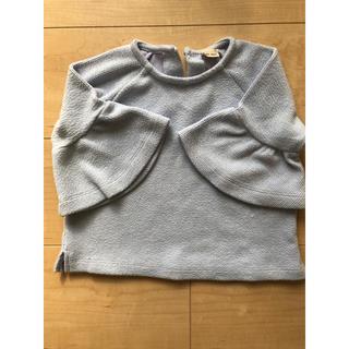 プティマイン(petit main)の子ども服 80センチ 女の子 フリル袖(その他)