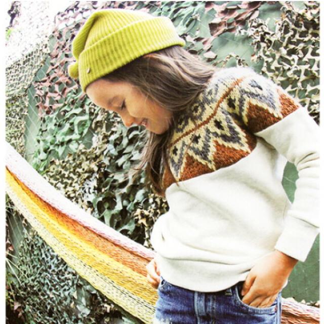 GO TO HOLLYWOOD(ゴートゥーハリウッド)の新品*ゴートゥーハリウッド*ニット*膝上ワンピ* キッズ/ベビー/マタニティのキッズ服女の子用(90cm~)(ニット)の商品写真