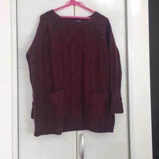 アミウ(AMIW)の美品 AMIW アミウ ニット セーター(ニット/セーター)
