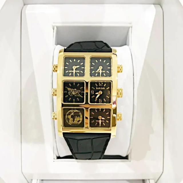 AVALANCHE(アヴァランチ)の最終値下げ icelink generation スモールケース アヴァランチ メンズの時計(腕時計(アナログ))の商品写真