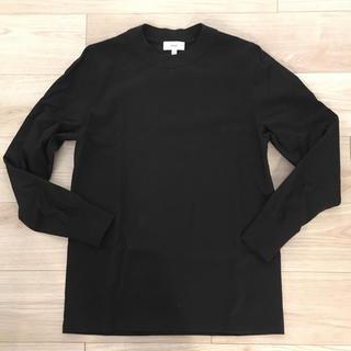 ハイク(HYKE)のHYKE クルーネック長袖Tシャツ 黒(Tシャツ(長袖/七分))