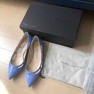 ペリーコ(PELLICO)の極美品⭐️定価52920円、PELLICO/ペリーコ フラット パンプス 36(ハイヒール/パンプス)