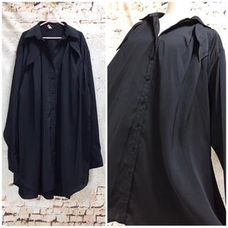 エイト(8iGHT)の8EIGHT オープンカラーシャツ 開襟ブラウス ドロップショルダー(シャツ/ブラウス(長袖/七分))