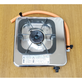 リンナイ(Rinnai)のリンナイ 一口ガスコンロ KG-11B プロパンガス LPガス用(調理機器)