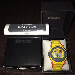 ジーショック(G-SHOCK)のG-SHOCK イエロージェイソン 復刻版(腕時計(デジタル))