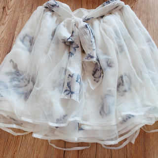リズリサ(LIZ LISA)のリズリサ*花柄スカート(ひざ丈スカート)