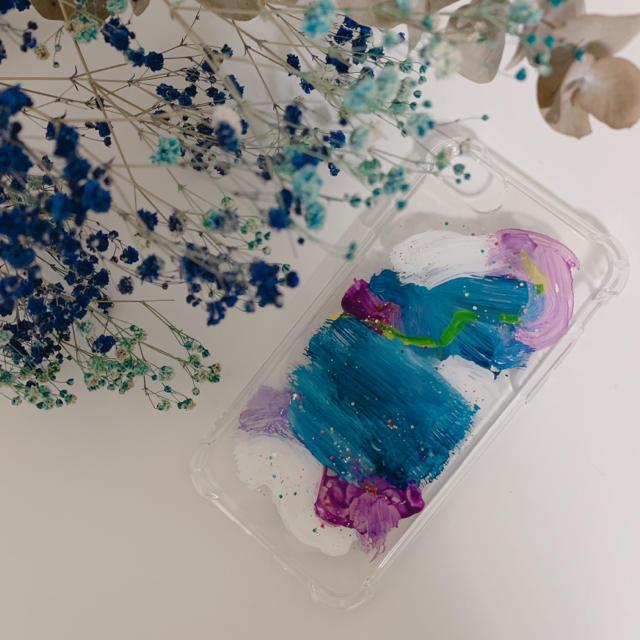 防水 iphone7 ケース tpu | flower - ハンドメイド iphoneケースの通販 by 27's shop|フラワーならラクマ