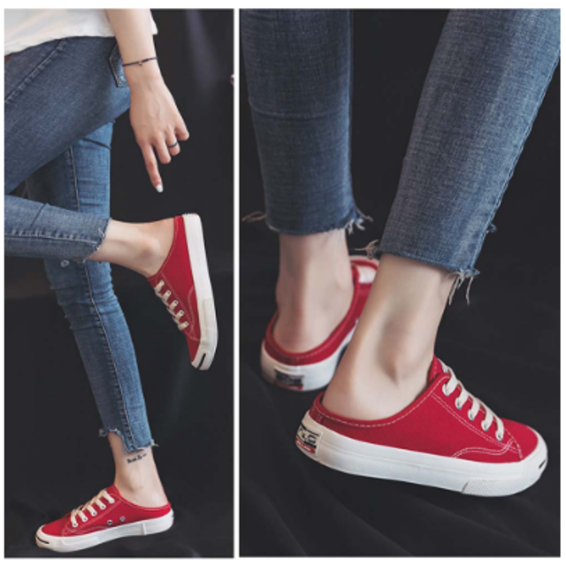 👟【 レディース👧 キャンバス スニーカー】歩きやすい シューズ レディースの靴/シューズ(スニーカー)の商品写真