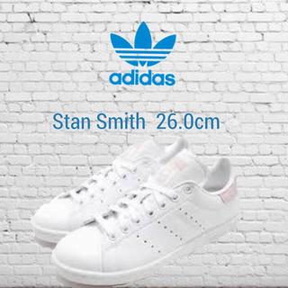 アディダス(adidas)の新品☆26cm☆adidas スタンスミス Stan Smith W ホワイト(スニーカー)