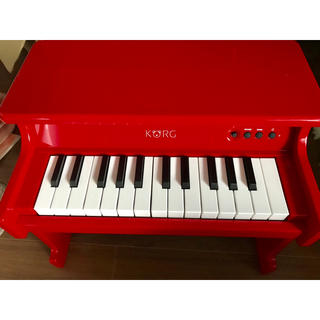 KORG タイニーピアノ レッド(電子ピアノ)