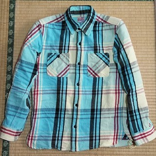 トウヨウエンタープライズ(東洋エンタープライズ)のHouston ヘビーウェイトシャツ M(シャツ)