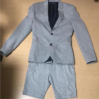 ザラ(ZARA)のZARA MAN 半ズボンセットアップ スーツ(セットアップ)