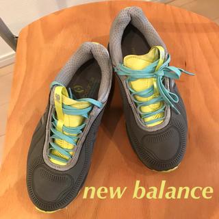 ニューバランス(New Balance)のnew balance  35  差し色ウォーキングシューズ(スニーカー)