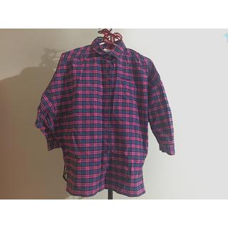 アディダス(adidas)のチェックのシャツ(シャツ/ブラウス(長袖/七分))