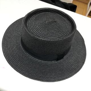 ブラック カンカン帽
