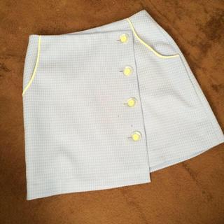 リリーブラウン(Lily Brown)の新品未使用タグ付♡レトロ台形スカート(ミニスカート)