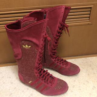 アディダス(adidas)のアディダス adidas 23.5cm ブーツ(ブーツ)
